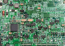 Circuit Board (close-up shot) Stock Images