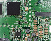 Circuit Board (close-up shot) Royalty Free Stock Photos