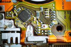 Circuit board closeup Stock Photos