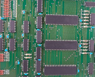 The Circuit board Royalty Free Stock Photo