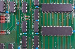 The Circuit board Royalty Free Stock Image
