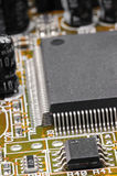 Circuit Board Closeup - R40R41 Royalty Free Stock Images