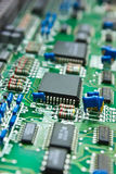 Circuit board Comp. Stock Image