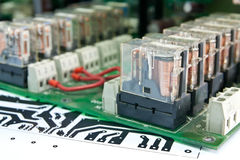 Circuit board Comp. Stock Photography