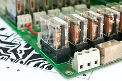 Circuit board Comp. Royalty Free Stock Photo