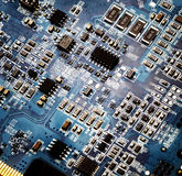 Circuit board computer background Stock Images