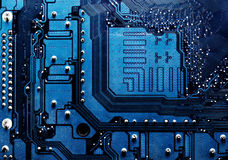Circuit board computer background Royalty Free Stock Photos