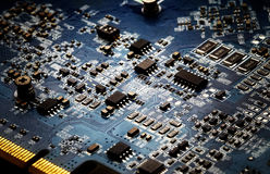 Circuit board computer background Royalty Free Stock Image
