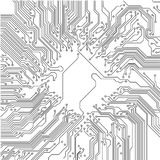 Circuit board Royalty Free Stock Photos