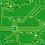 Circuit board concept. High tech background. PCB. Vector illustration. Circuit board concept. High tech background. PCB. Vector illustration Stock Images