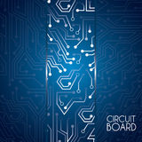 Circuit board deisgn Stock Images