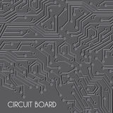 Circuit board design Stock Images