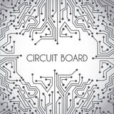 Circuit board design Stock Photo