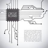 Circuit board design Royalty Free Stock Photo