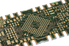 Circuit board detail Stock Photo