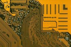 Circuit board digital highways Royalty Free Stock Images