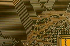 Circuit board digital highways Stock Images