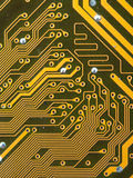 Circuit board digital highways Stock Image