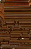 Circuit board digital highways Stock Photo