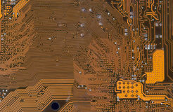 Circuit board digital highways Royalty Free Stock Images