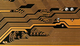 Circuit board digital highways Royalty Free Stock Photos