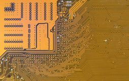 Circuit board digital highways Royalty Free Stock Image