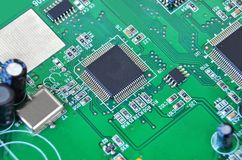 Circuit board, DOF Stock Photo