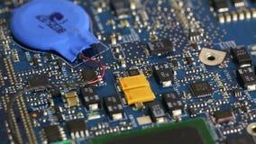 Circuit board stock video footage