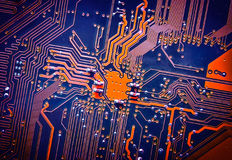Circuit board electronic for background Royalty Free Stock Photography