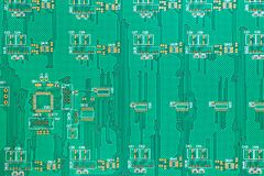 Circuit board. Electronic computer hardware technology. Motherboard digital chip. Tech science background. Integrated communicatio Royalty Free Stock Images