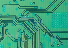 Circuit board. Electronic computer hardware technology. Motherboard digital chip. Tech science background. Integrated communicatio stock image