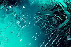 Circuit board. Stock Images