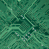 Circuit board electronic square texture Stock Photography