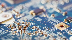 Circuit board, electronic technology background