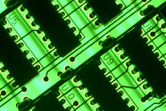 Circuit board. (Electronics, Manufacturing, Concept Stock Images