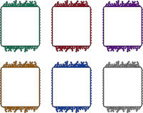 Circuit board frames Stock Photos