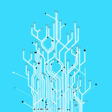 Circuit board graphic Royalty Free Stock Photos