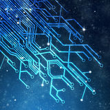 Circuit board graphic Stock Photos