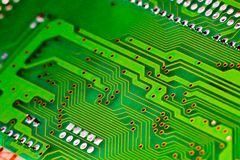 Circuit board gy Royalty Free Stock Photos