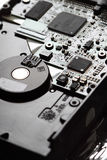 Circuit board hard drive Royalty Free Stock Photo