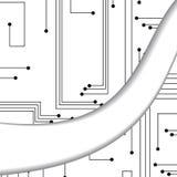 Circuit board illustration Stock Photography