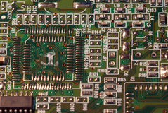 Circuit board macro Stock Photos