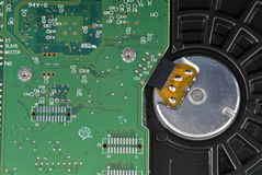 Circuit Board Macro Stock Images