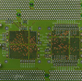 Circuit board macro background Stock Images