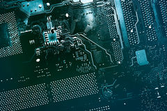 Circuit board. Royalty Free Stock Images