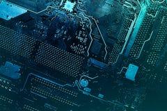 Circuit board. Stock Photo