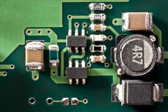 Circuit board one Stock Photography