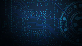 Circuit board pattern. For background Royalty Free Stock Image