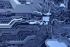 Circuit board pattern Stock Photography