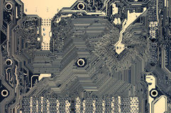 Circuit board pattern Royalty Free Stock Image